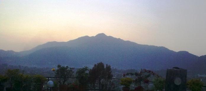 nagarjun hill, kathmandu, nepal