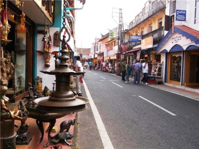 jew street, kochi, india
