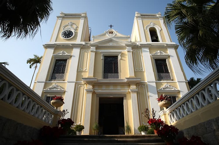 st lawrence church, macau