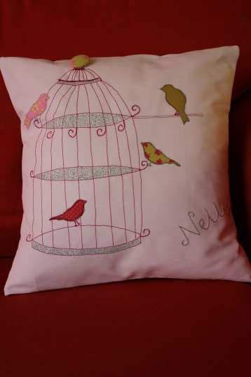 and your bird can sing - machine embroidery and appliqué