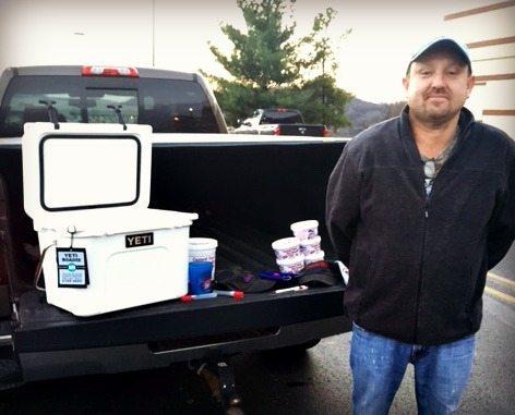 Fairmont Man Wins YETI Cooler, Custard Stand Hot Dog Chili