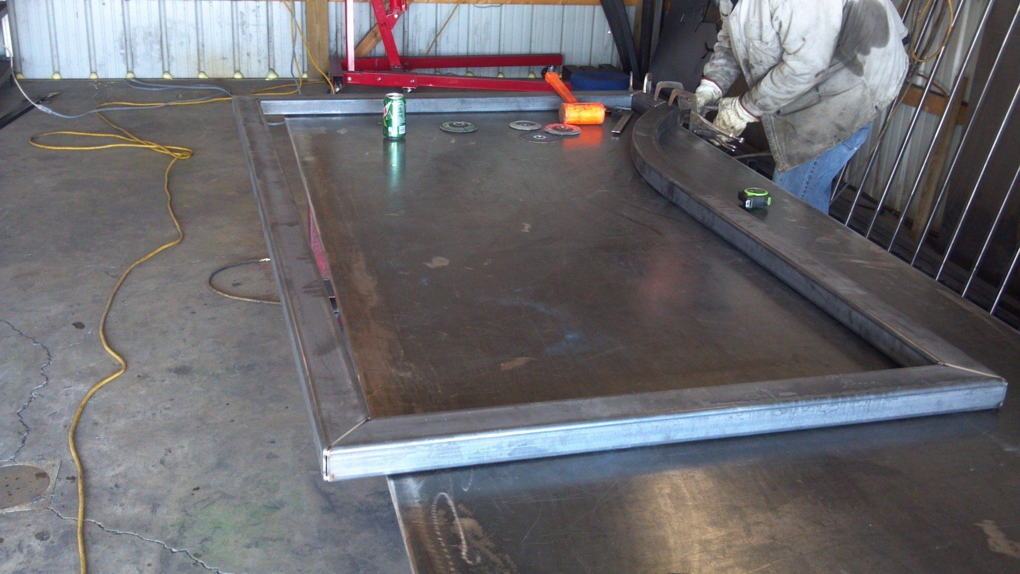 building driveway gate frame - Metal Gate Frame