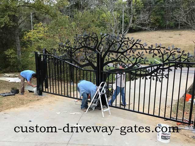 Driveway Gates Louisville Kentucky Custom Driveway Gates
