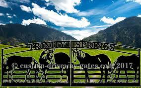 western ranch entry gate jdr metal art 2017