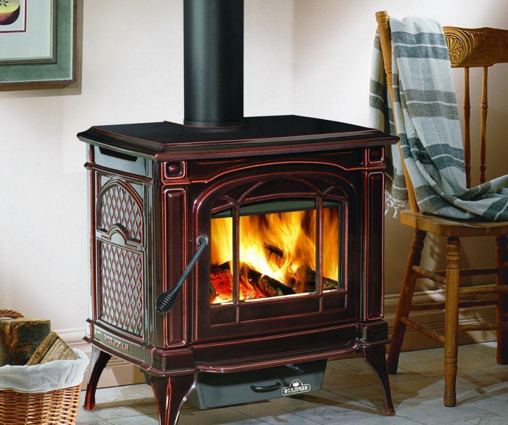 Ashley Wood Stove On Custom Fireplace Quality Electric