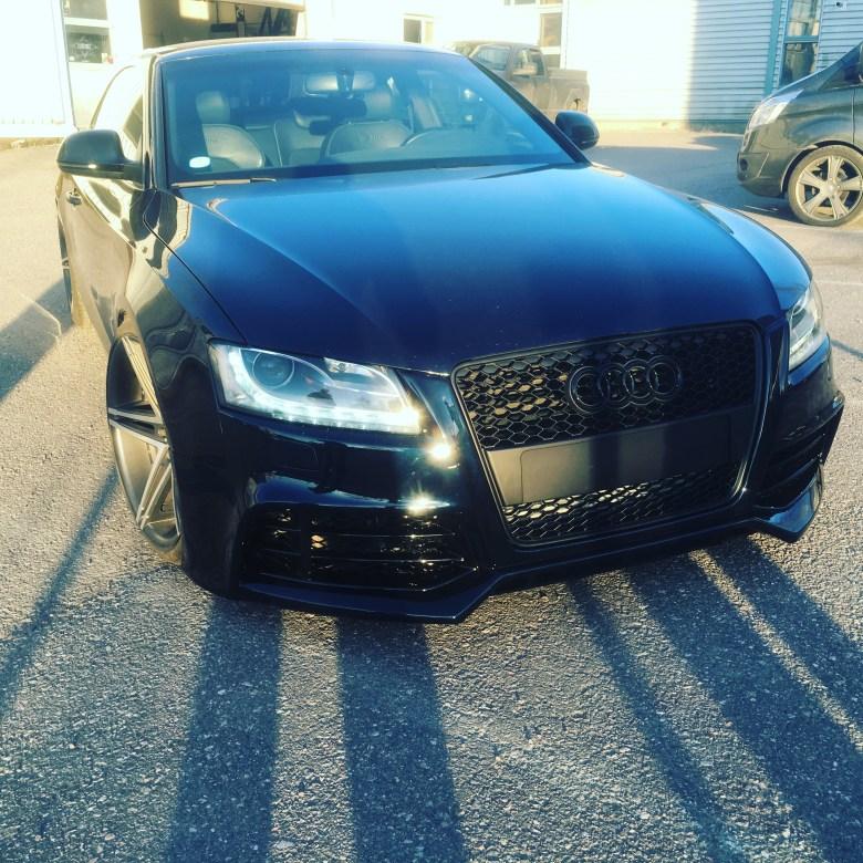 Audi A5 photoshoot