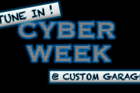 Custom Garage ti-hallin Cyber Week tarjous