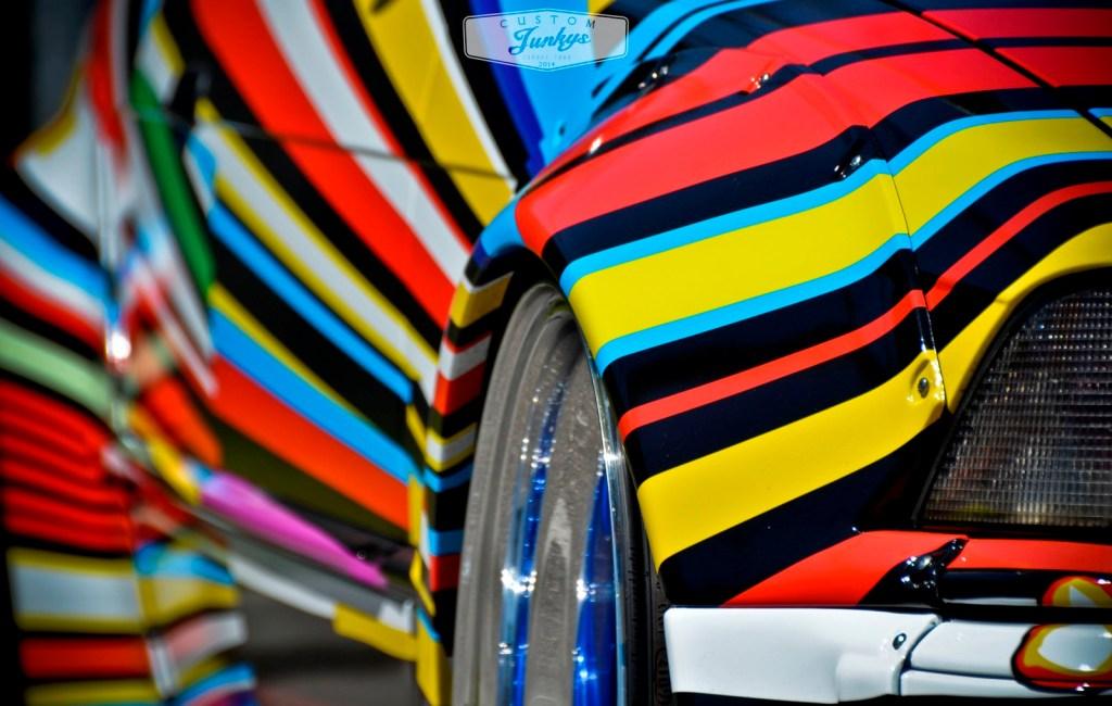 BMW Art Car im Jeff Koons und Roy Lichtenstein Design