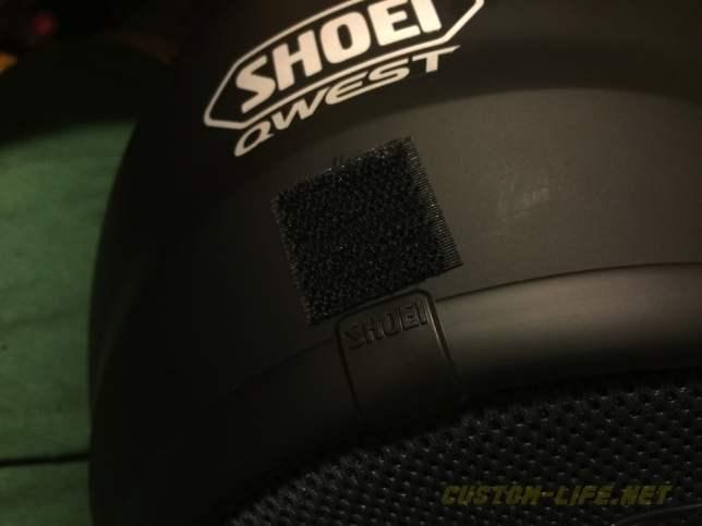SHOEI QWEST HEADPHONE 06