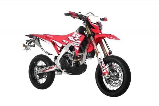 CRF450XR Supermoto 06