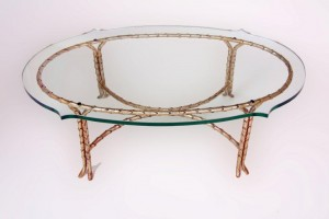 Acanthus Leaf Coffee Dining Console Table
