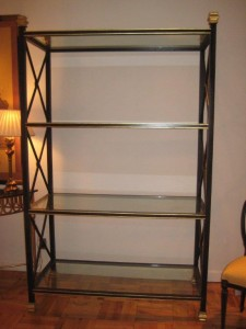 Neo Classical Bookcase Étagère