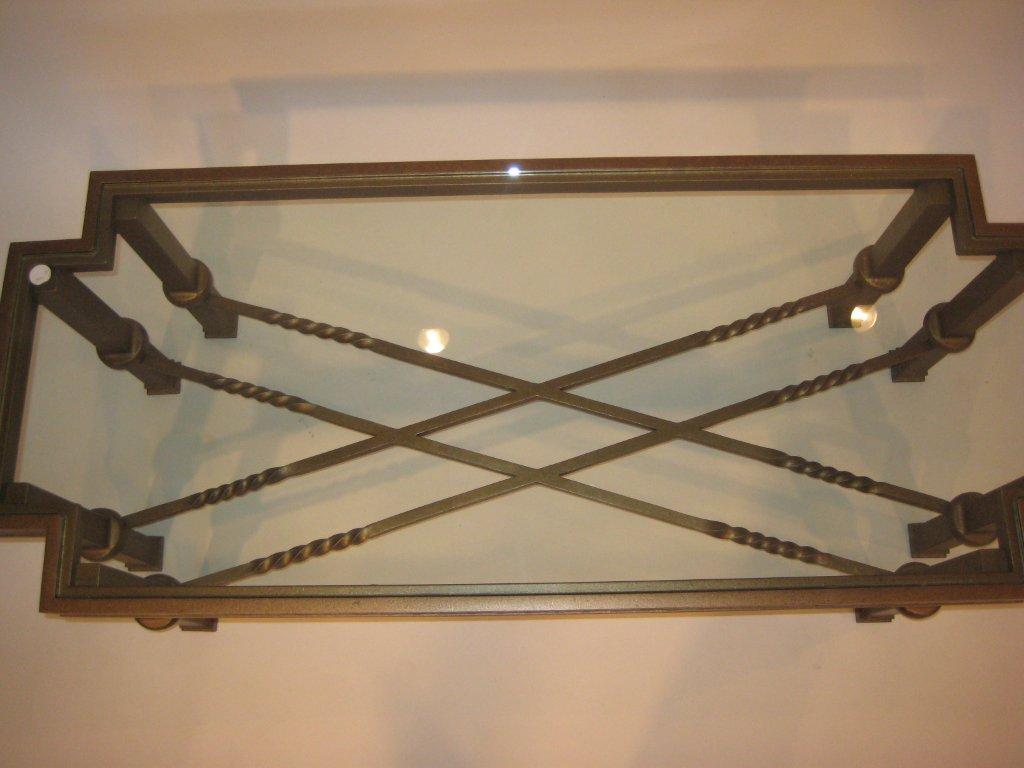 Inverted Corner Coffee Steel Table