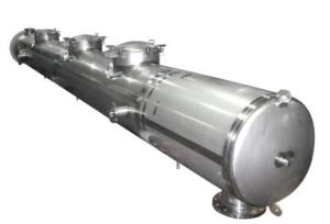 horizontal reactor vessel