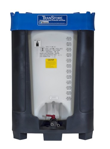 TranStore Voyager Plus poly IBC tank