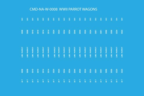 CMD-NA-W-008 WWII PARROT WAGON