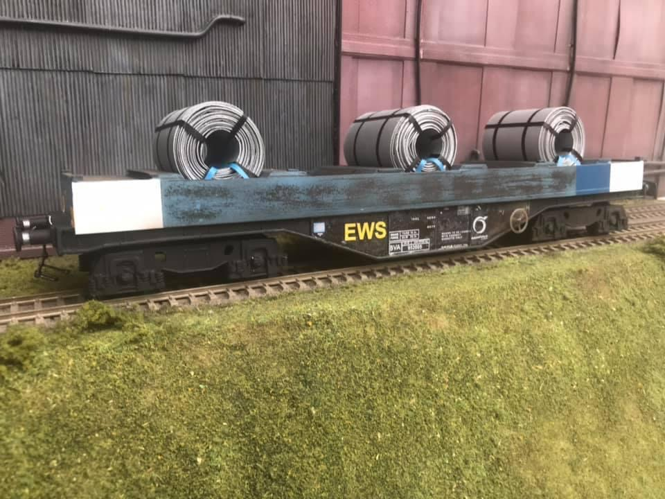 7mm scale BVA steel coil wagon