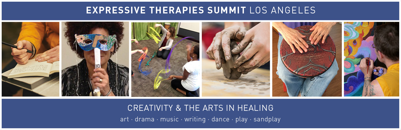 Expressive Therapies Summit: Los Angeles 2021 Registration Site