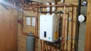 Navien Tankless Gas Water Heater  Custom Air