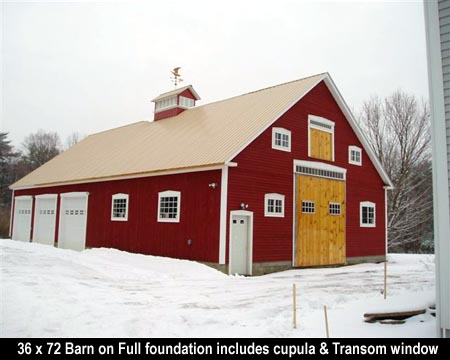 Custom Barns LLC Phil Laplante Design New