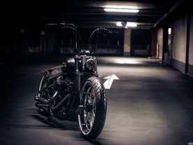 Das Jubi-Bike ist das erste CCE-Custombike mit pneumatischer Federung