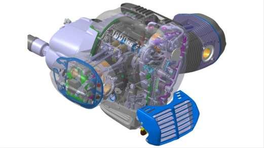 Der größte Boxermotor, den BMW Motorrad je konstruiert hat