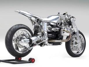 Tank, Stizbank und Fender stammen von Ireful Motorcycles