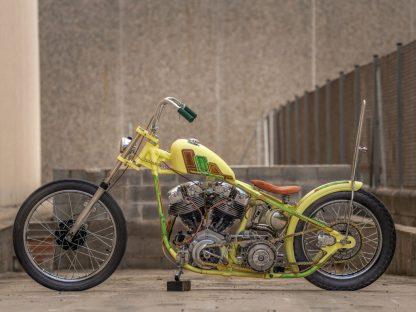 Diesmal mussten nicht neunzig Prozent des Bikes originalgetreu sein und so hatte Jordi nicht nur bei der Wahl der Teile freie Hand, sondern auch bei der Umsetzung seiner Ideen