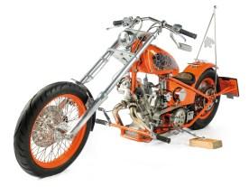 Schon früh begeisterte sich Udo für Chopper, Harleys lagen allerdings außerhalb seiner Finanziellen Reichweite