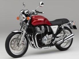 Mit der luftgekühlten CB1100 hat Honda bereits ein Retro-Eisen im Feuer – wenngleich mit überschaubarem Erfolg