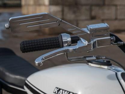 Stiltreue Aluminiumteile von SJP finden sich am Lenker