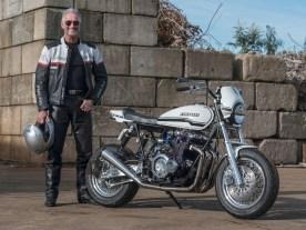 »Alles in allem war es tatsächlich ein extremer Umbau, wenn man bedenkt, in welchen Zustand das Motorrad vorher war. Doch es hat sich gelohnt« so ein stolzer Jeroen