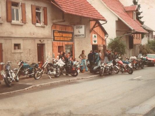 In einem kleinen Laden im schwäbischen Oferdingen begann 1976 die Geschichte von CPO – hier ein Bild vom Sommer 1979
