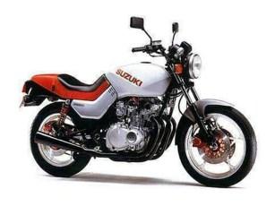 Für den heimischen Markt baute Suzuki 1991 sogar eine 250er-Vierzylinder-Katana. Bei uns gab es Versionen mit 400, 550, 650, 750 und natürlich die Ur-Katana mit dem 1100er-GSX-Aggregat