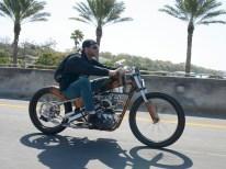 »Es war cool, ein Motorrad für meinen Lackierer zu bauen. Den Paintjob übernahm der am Ende natürlich selbst«