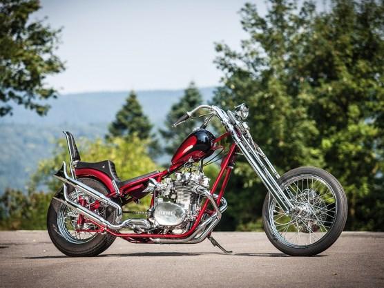 Adelstitel: Best Chopper auf der Custombike-Show
