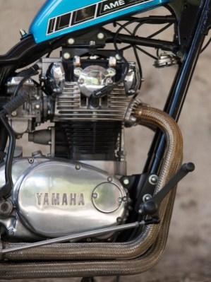 Ein 2012 im Internet ersteigerter AME-Rahmen für Yamahas XS 650 legt auch den Grundstein für Christophs Projekt