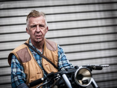 Graue Eminenz: Rudi von der Custom Garage Hamburg
