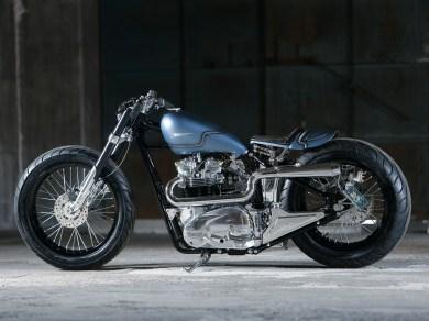 Nein, der Name ist kein Schreibfehler: »Masterpeace« hat Heiwa Motorcycles seine Kreation getauft. Obwohl sie auch ein echtes »Masterpiece«, also Meisterwerk, ist