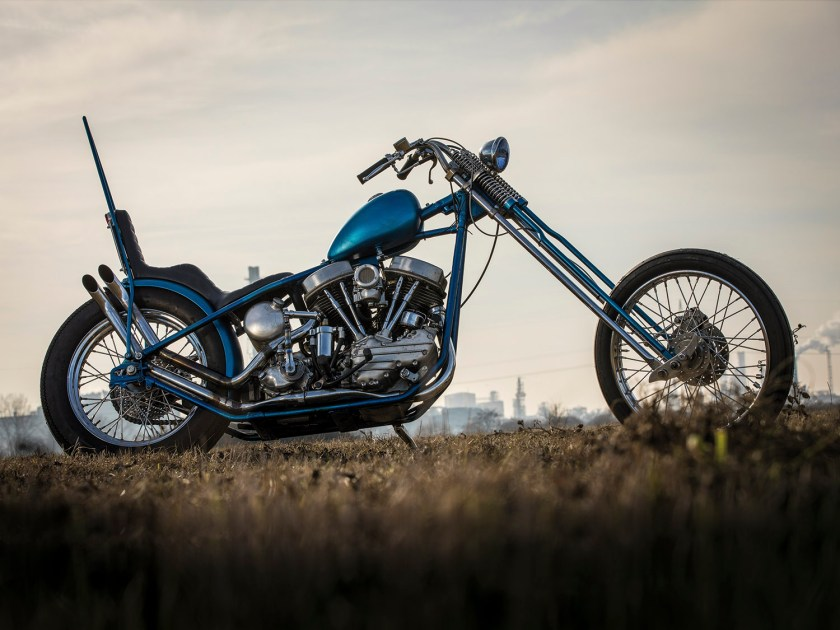 Harley-Davidson Panhead – Twiggy