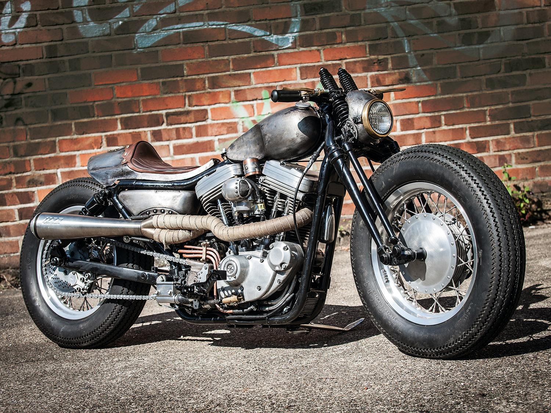 Harley-Davidson Sportster – Altes Eisen