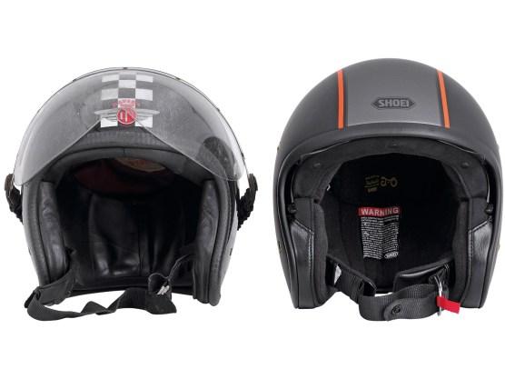 Familie Reuters neue Helmliebe trägt den Namen »Carburettor TC-8« und kommt von Shoei.