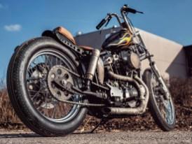 Nicht immer erkennt man auf den ersten Blick, wie viel Geld und Arbeit in einem Motorrad steckt. Bevorzugt handelt es sich dabei um Bikes, die im Alltag gefahren und hart rangenommen werden. Used Look nennt man das Ergebnis dann wohl