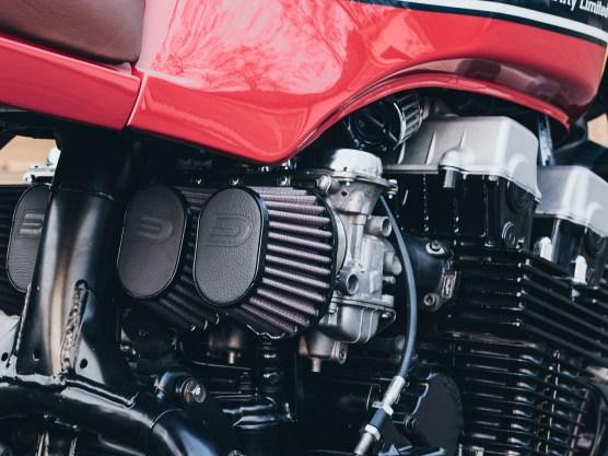 Maximal sechs Motorräder werden bei Kaspeed pro Jahr gebaut, die Kleinstserienfertigung auf Basis der Seven-Fifty-Reihenvierer begann im letzten Jahr