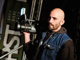 Luca Mazza heißt der unabhängige, italienische Filmemacher, der »Ride on« auf den Weg brachte. Zehn Jahre lang begleitete er dafür den Customizer Frankino Chop Works mit seiner Kamera