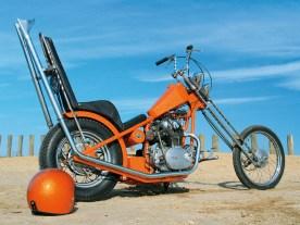 Ein Bike, das einen genauen Blick nötig macht. Die Teile an der Yamaha sind nicht wild gemixt, sondern erzählen jedes für sich tatsächlich Customgeschichte