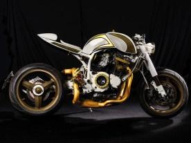 Eine Besonderheit des Bikes ist sein Rahmen. Von 1972 an baute Manfred Rau seine Rückgratrahmen, ähnlich denen von Egli aus der Schweiz. 1985 verkaufte Rau seine Firma an den PS-Schuppen (PSS), wo die PSS-Rau-Rahmen bis zur Insolvenz weitergebaut wurden
