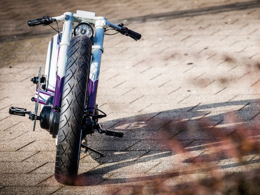 E-Bike im Dragstyle