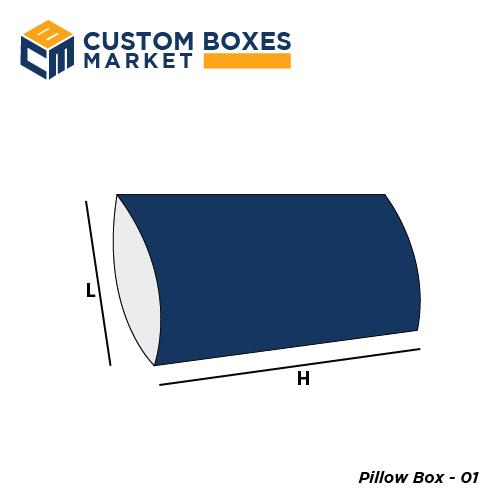 pillow box kraft pillow boxes