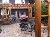 Exterior patio and Pergola